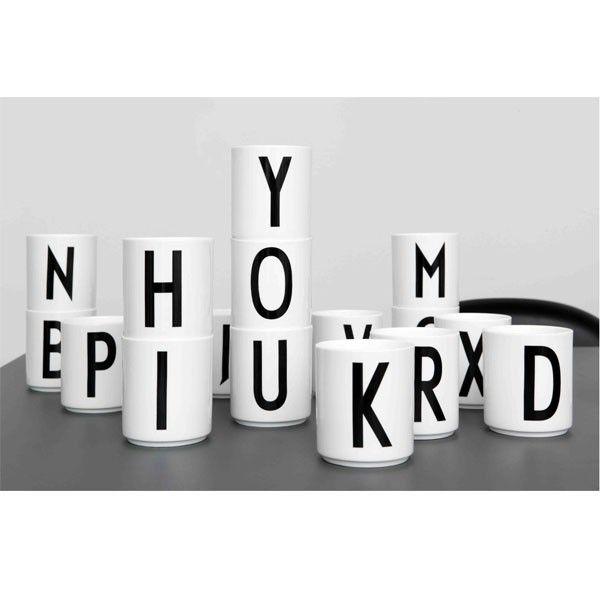 Arne Jacobsen bokstavkopper - Design Letters