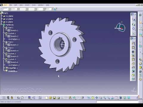catia video tutorial 4 - YouTube