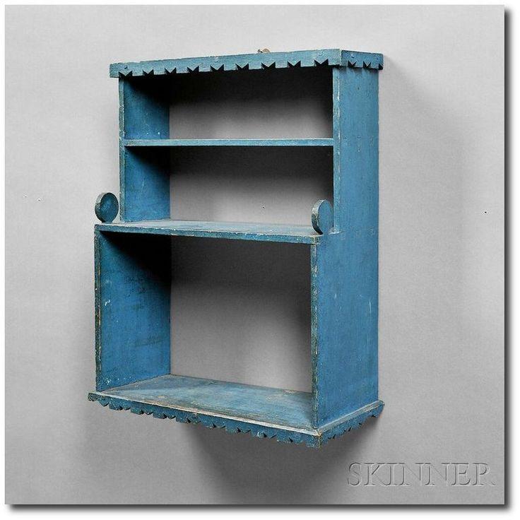 30 best Antique Painted Shelf's images on Pinterest ...