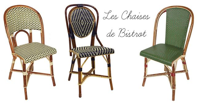 Oh l l gatti les chaises de bistrot parisien paris for Chaises bistrot anciennes