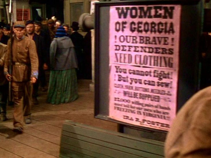 The Confederacy appeals to the women of Gone
