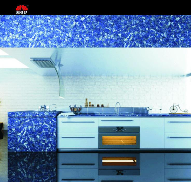 blue veins stone kitchen decoration slabblue like the sky home decorate backsplash - Stone Slab Canopy Decoration