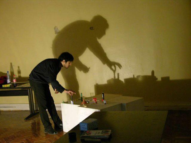 Amazing Photos of Shadow Art