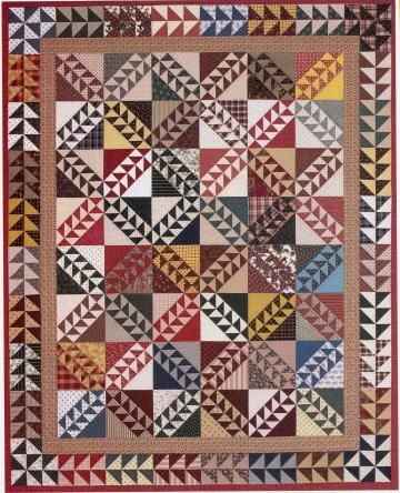 56 best quilt borders images on Pinterest | Appliques, Sew and ... : pieced borders for quilts - Adamdwight.com