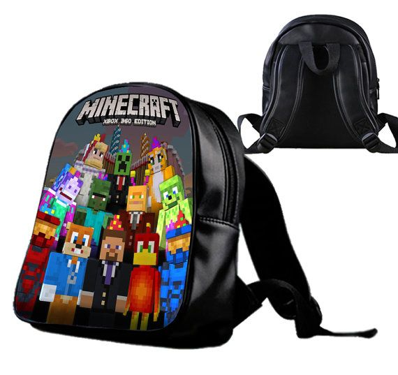 Minecraft Xbox 360  Backpack/Schoolbags for kids. by Wonderfunny #Minecraft #backpack #schoolbags #gift #birthday