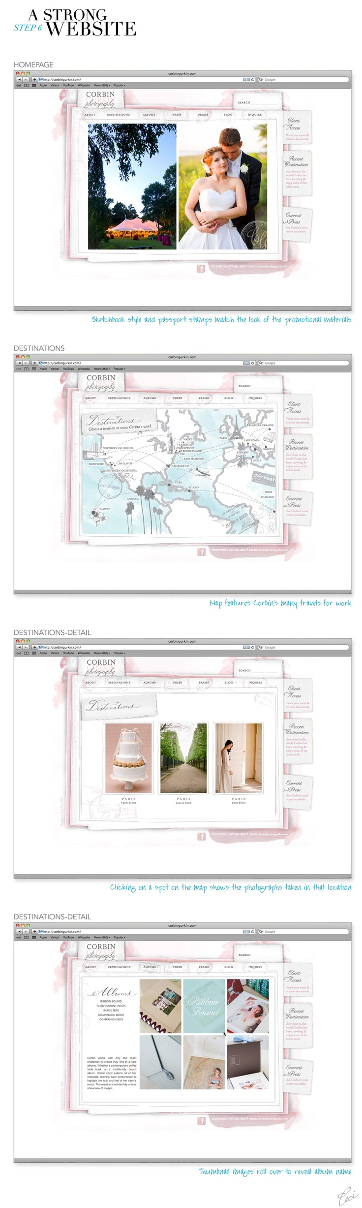 cute website