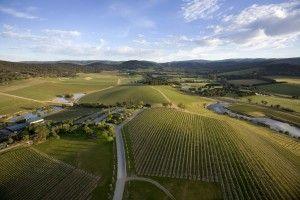 De Bortoli Wines, Yarra Valley Australie vu du ciel... @DeBortoliWines