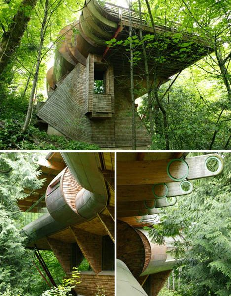Futuristic Nature House Design: 17 Best Images About Organic Architecture On Pinterest
