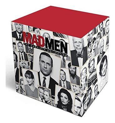 Mad Men: the Complete Collection [Region 1]  My absolute favourite is this Mad Men Limited Edition Gift Set, as stylish as the show itself.  23 discs containing all 7 seasons of the show, all previously-released special features and commentaries, plus over 4 hours of exclusive new special features including Cast Wrap Ups and Show Timelines.  And to get you into the spirit of things (pun intended), two handmade low-ball tumblers and four themed cork coasters.  All packaged elegantly.