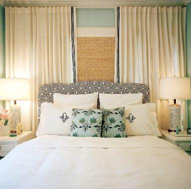 best 25+ window behind bed ideas on pinterest   curtain ideas