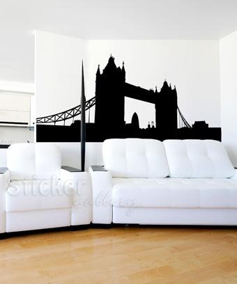 Αυτοκόλλητα τοίχου πόλεις - London Bridge