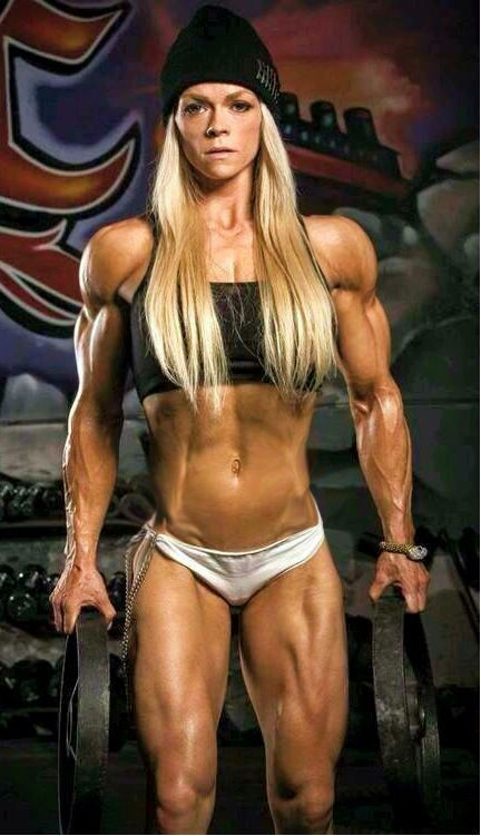 Pumpitup S Female Muscle Nii Carinelli Bodybuilding