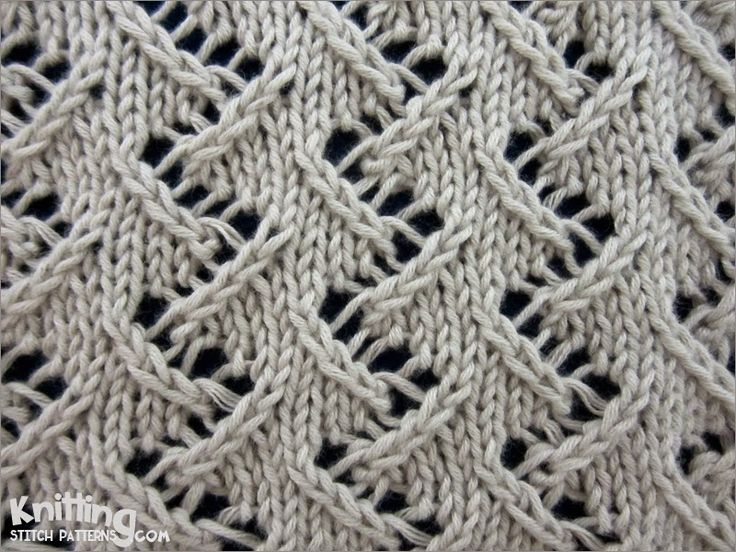 Crochet Knit Stitch Instructions : chevron-stitches Knitting Stitch Patterns #knitSwatch (instructions ...