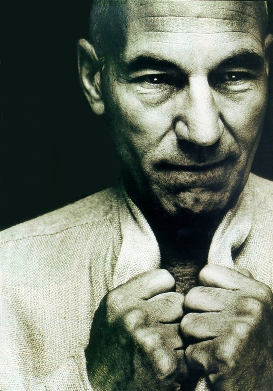 Patrick Stewart- my captain. I want to be his #1. Please make it so ;-)