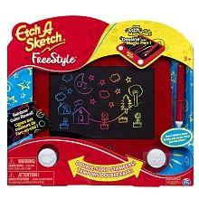 Etch A Sketch- Écran de dessin Freestyle avec stylet et tampons