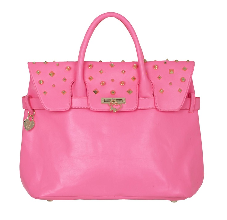 Maison Espin in pink #maisonespin #springsummercollection13 #womancollection #bag #lovely #MadewithLove #romanticstyle #milano #pink