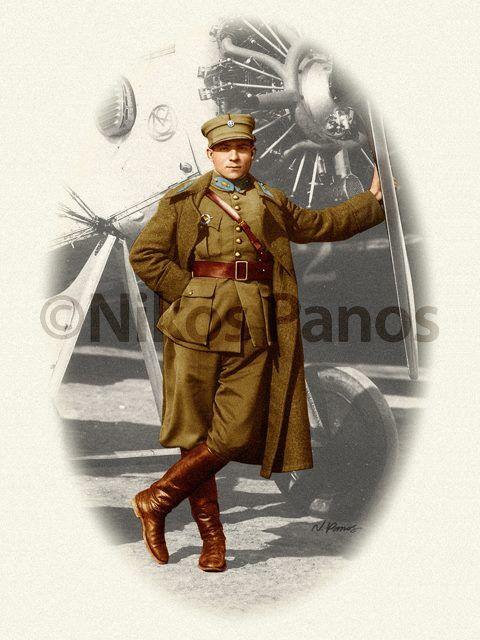 Army Air Corps Lieutenant, late 1920s.