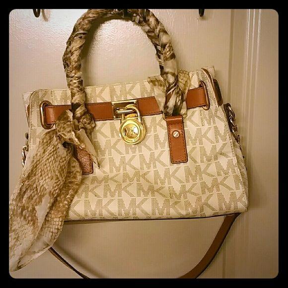 Authentic Michael Kors  Hamilton satchel MK Bag AUTHENTIC Michael Kors Hamilton satchel  MK Bag. Michael Kors Bags Totes