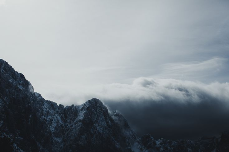 Among the clouds...