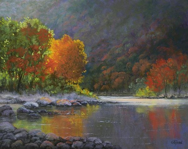 """Wenatchee River"" by Paula Ford"