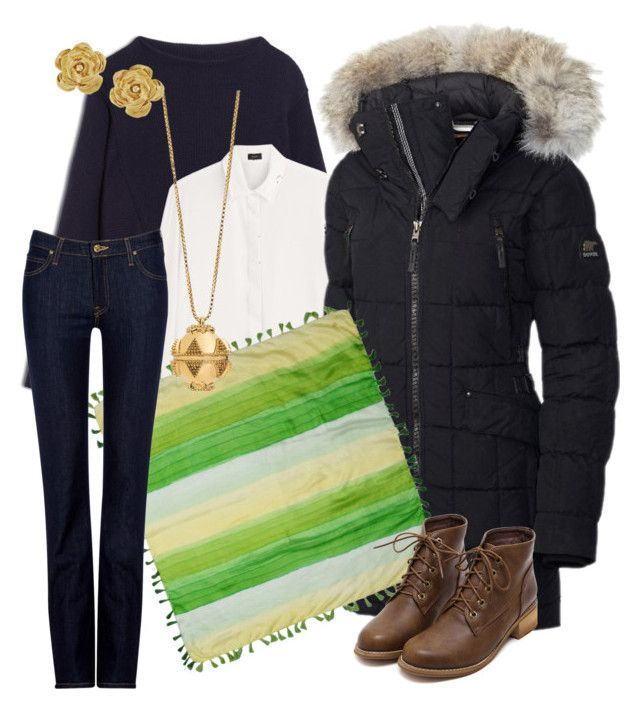 """""""Waiting for Spring"""" by wardrobepieces on Polyvore featuring Max&Co., Joseph, SOREL, Roberto Cavalli, Lee, SB LONDON and Vintage"""