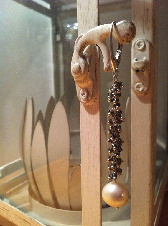 orecchini pendenti con pietre dure fatti a mano di arzudesign