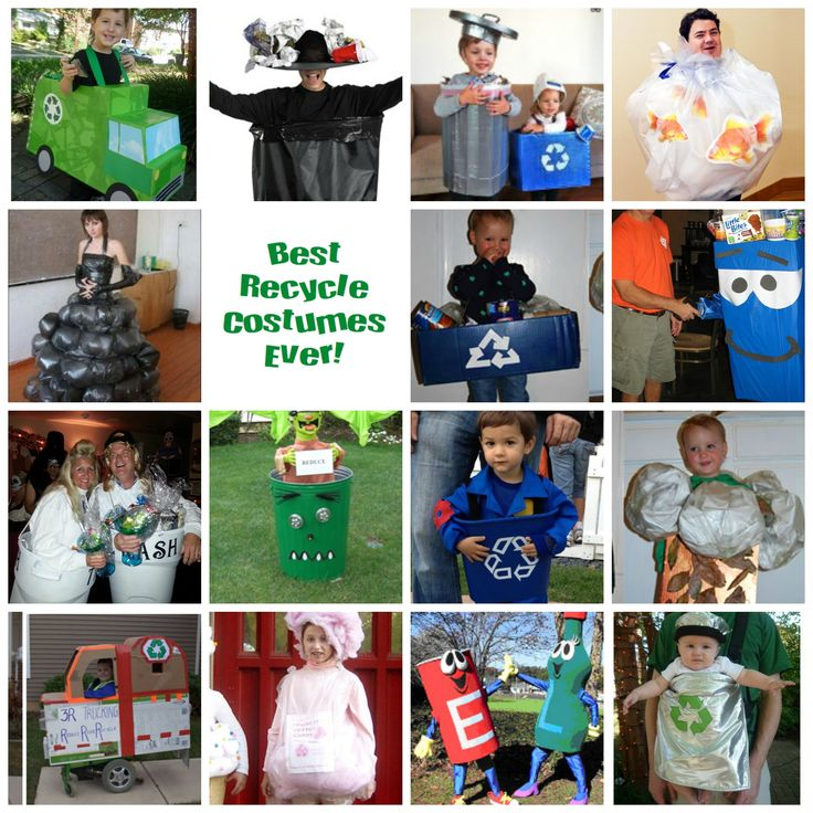 """The Best Recycle Costumes Ever """""""