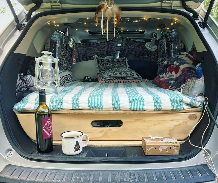 5 Steps To Living In Your Car (With images) Minivan