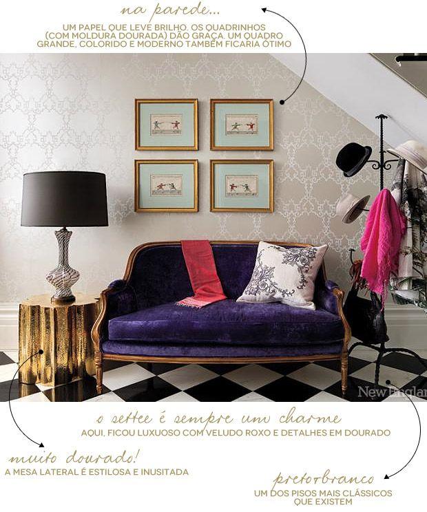 living-gazette-barbara-resende-hall-settee-roxo-classico-moderno