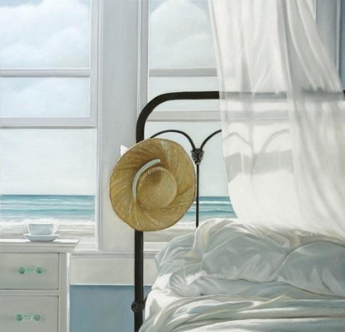 ◇ Artful Interiors ◇ paintings of beautiful rooms - Karen Hollingsworth