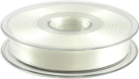 Perfect for weddings - white double faced satin ribbon!