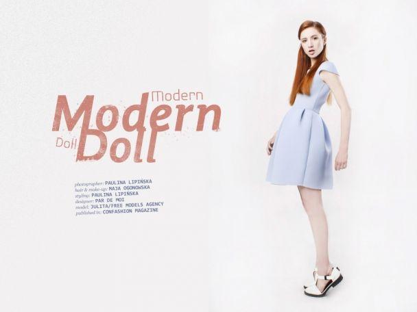"Paulina Lipińska: ""Modern Doll"" http://www.confashionmag.pl/webitorial/modern-doll.html"