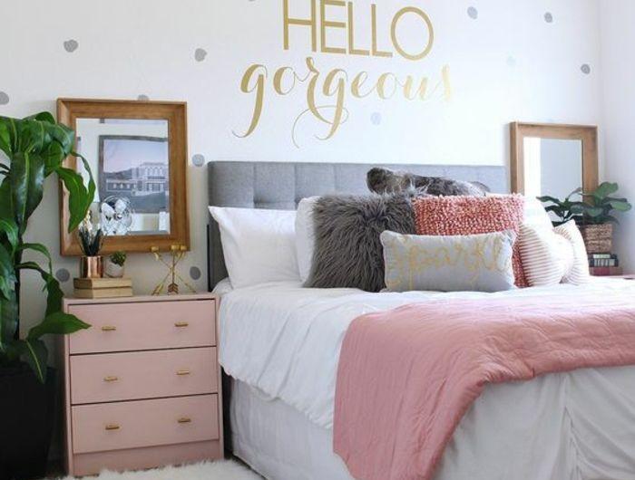 The 25+ best Chambre rose et gris ideas on Pinterest | Chambre de ...