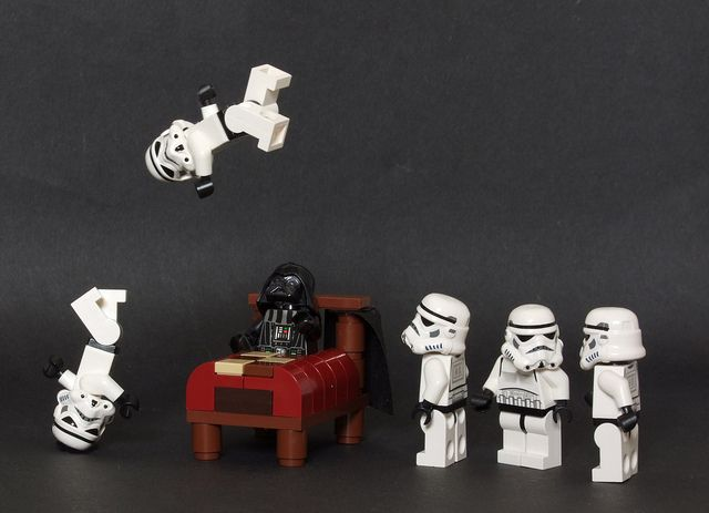 What happens when Darth Vader has insomnia. Maybe I should invest in some storm troopers...yes!!!