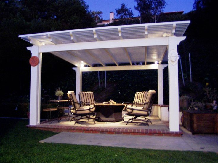 38 best patio lighing images on pinterest - Free Pergola Designs For Patios