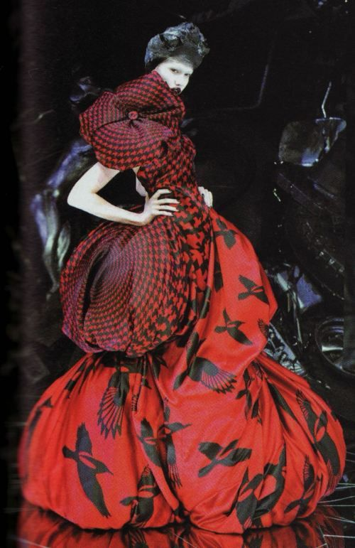 "Alexander McQueen remembered ... ""Horn of Plenty"" (Fall 2009 collection) ..."
