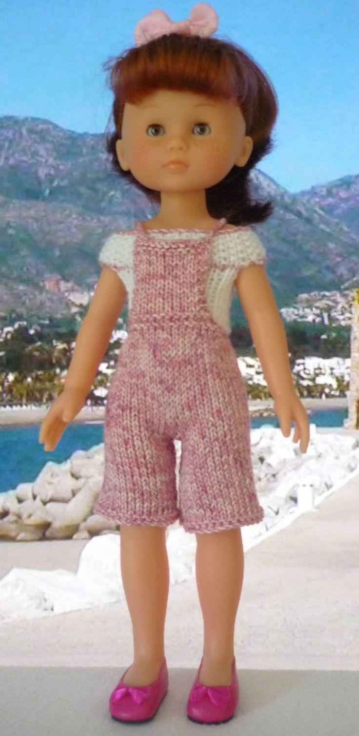 Salopette pour poupée Chérie: 1) http://marieetlaines.canalblog.com/archives/2013/11/21/27801614.html 2) http://p9.storage.canalblog.com/96/07/1066432/88999611.pdf