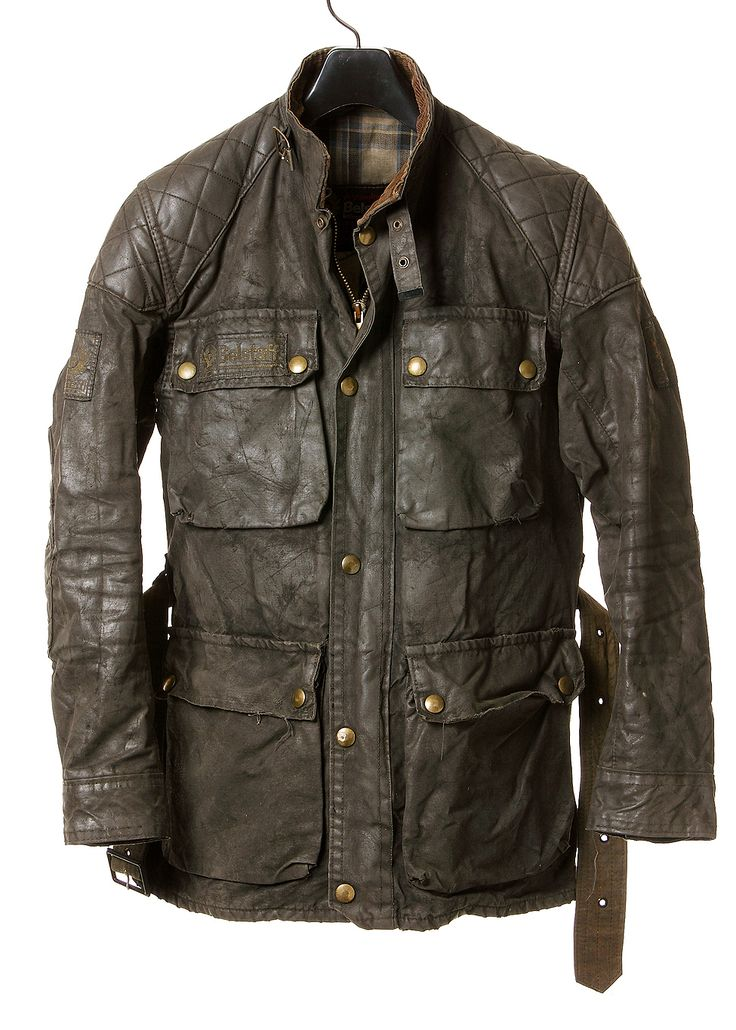 Vintage Belstaff waxed cotton jacket