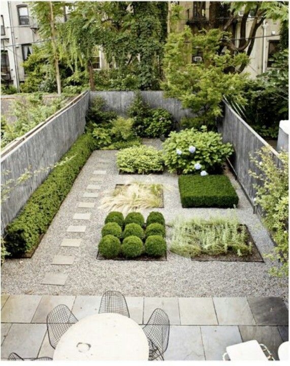 minimalistic landscaping