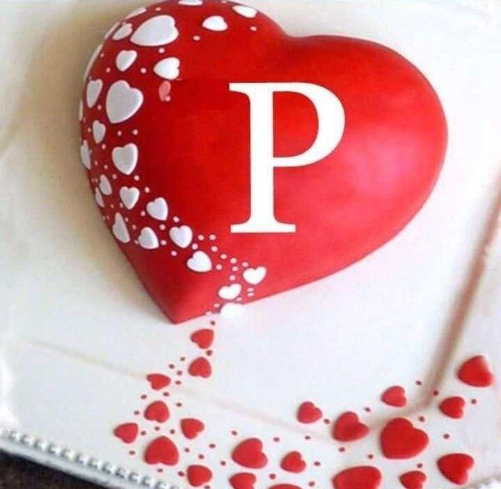 Love P Name Wallpaper Hd