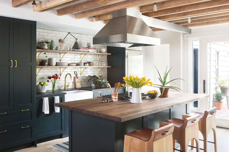 Cook's Corner - Alison Jennison's Brooklyn Townhouse Makeover - Photos