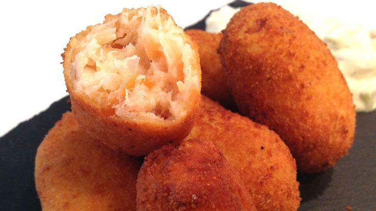 Cocina Muy Sencilla: CROQUETAS DE SALMÓN AHUMADO
