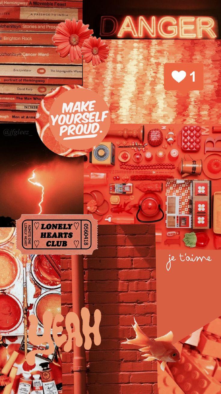 Nice #wallpaper #orange #aesthetic #jfgleez_ 14
