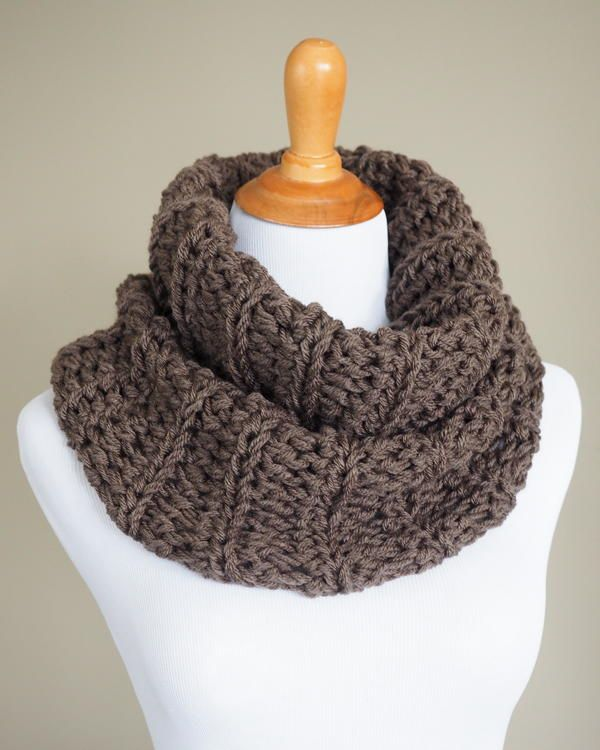 Free knitting patterns that actually keep you warm are few and far between. This one looks cozy. Plus, I love the name.