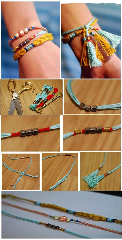 Pandahall.com offers you jewelry making ideas and easy picture instruction to help you to finish this pretty bracelet.
