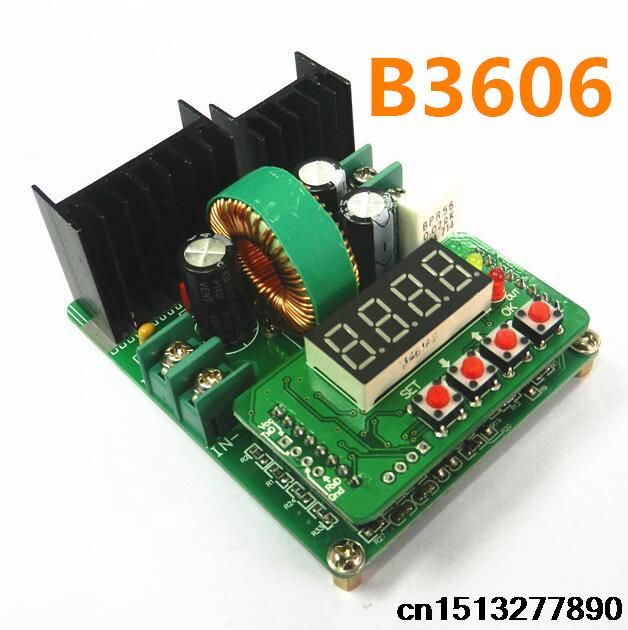 B3606 DC-DC solar charging constant voltage current capacity buck precision NC LED driver modules solar charging controllers #Affiliate