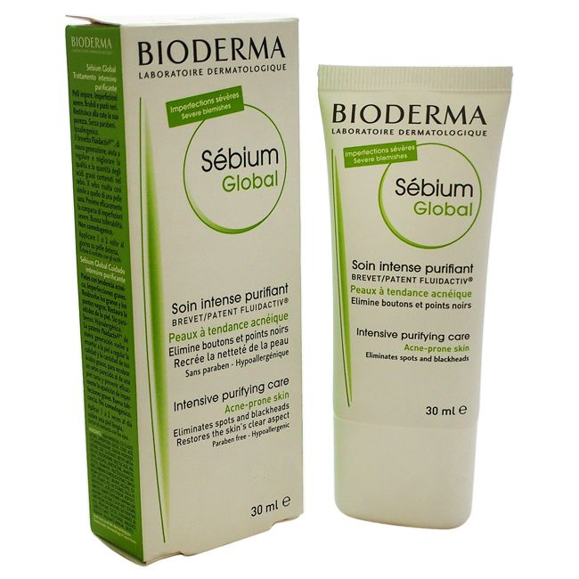 Bioderma Sebium Global Intensive Purifying Care 1.3-ounce Treatment