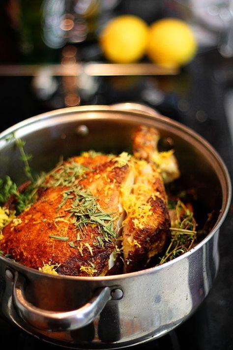 Frango assado no leite provavelmente a melhor receita de frango de todos os tempos | cozinha pequena