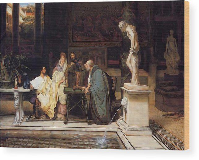 Print Lawrence Alma Tadema 6 Sculpture Gallery