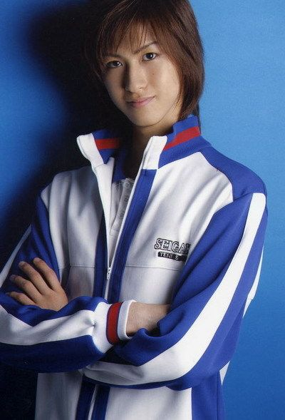 Aiba Hiroki as Fuji Syuusuke during the 2nd phase of the Prince of Tennis Musical
